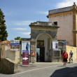 Stock Photo: Entrance to Etruscruins, Fiesole