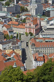 Aerial photo of Ljubljana, Slovenia 2 — Stock Photo