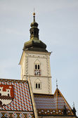 St. Mark Church, Zagreb 2 — Stock fotografie