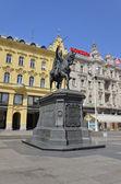 Josip Jelacic of Buzim, Zagreb 2 — Stock fotografie