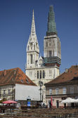 St. Stephen's Cathedral, Zagreb — Foto de Stock