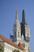 St. Stephen's Cathedral, Zagreb 2 — Stockfoto