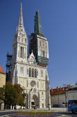 St. Stephen's Cathedral, Zagreb 3 — Foto de Stock