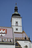 St. mark kerk, zagreb 8 — Stockfoto