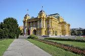 Croatian National Theater, Zagreb 3 — Stock Photo