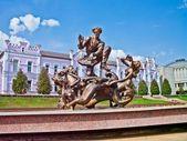 Fountain Sadko, Sumy, Ukraine — Stock Photo