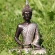 Stock Photo: Buddhstatue in grass
