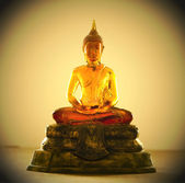 Buddha statue from resin — Stock Photo