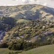 Stock Photo: Marin county hills