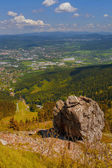 View from Jested mountain — Stock Photo