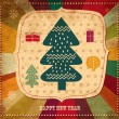 Vintage Christmas card — Stock Vector #12718581