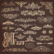Royalty-Free Stock Vector Image: Vector set of ornaments