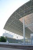 Estrutura de telhado. — Fotografia Stock