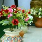 Flowers made plastic,. — Stock Photo #24649869