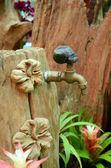 Металлические воды кран,. — Стоковое фото