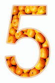 Number five. — Stock Photo