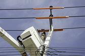 Electrical technician. — Stock Photo