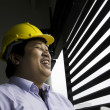 Construction engineer. — Stock Photo