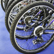 Bicycle wheel. — Stock Photo