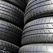 Stockfoto: Tire black.