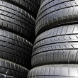 Foto de Stock  : Tire black.