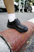 Children's shoes. — Stock Photo