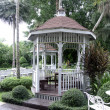 Pavilion in the garden. — Foto de Stock