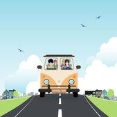 School bus. — Stock Vector