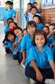 Studenten in thailand. — Stockfoto