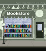 Bookstore — Stock Vector