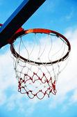 Hoops Basketball — Stock Photo