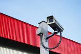 Cctv bezpieczeństwa — Zdjęcie stockowe