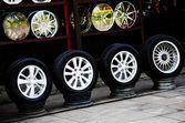 Tires — Stock Photo