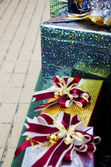 Christmas festive gifts — ストック写真