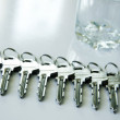Key metal — Stock Photo #38649785