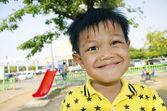 Kids on the playground — Stock Photo
