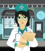 Pharmacy — Stock Vector