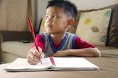 Kids are writing — Stock Photo