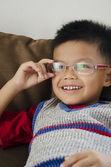 Kids glasses — Stock Photo
