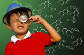 Kids Science — Stock Photo