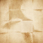 Old folded paper texture — Stock Photo