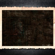 Blank photo frame on grunge background — Stock Photo #24895171