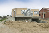 House new construction — Stock Photo
