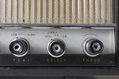 Alte vintage radio — Stockfoto
