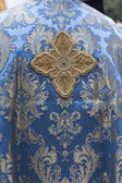 Greek Orthodox priest vestments — Stock Photo