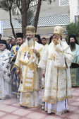 Greek orthodox Saint Nicholas celebration — Stock Photo