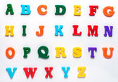 English toy alphabet — Stock Photo