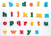 English toy alphabet — Foto de Stock