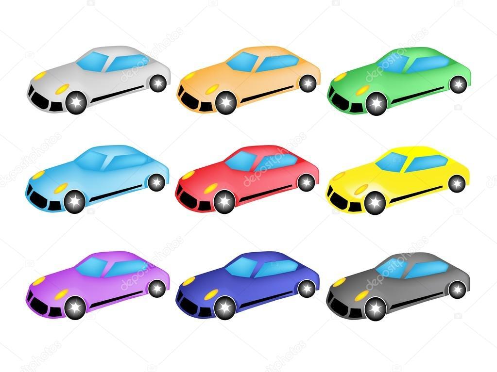Car Icon Set Car Icon or Race Car Icon