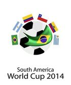 South America Qualification in 2014 World Cup — Stock Vector
